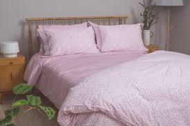 pink ticking stripe u2013 foxford woollen mills