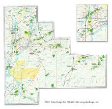 Naperville Il Map Maps U2014 Pulse Design