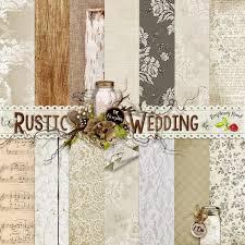 rustic wedding scrapbook raspberry road designs new scrapbook kit freebie