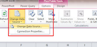Excel 2010 Pivot Table How To Change Data Source Of An Excel 2010 Pivot Table Insight