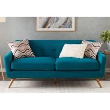 Diamond Tufted Sofa Modern Tufted Sofas Couches Allmodern