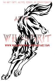 rebellious tribal wolf by wildspiritwolf on deviantart