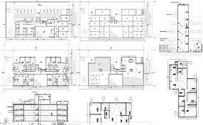 autocad architektur 2 and 3 bhk apartment architecture design in autocad dwg files