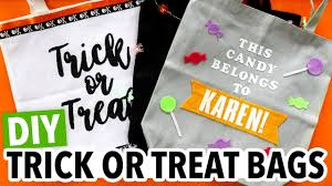 How To Make A Halloween Trick Or Treat Bag by Diy Halloween Trick Or Treat Tote Bags Hgtv Handmade Youtube