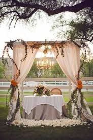wedding arches decorated with burlap burlap pipe and drape from always invited event rentals