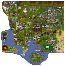 Runescape World Map by Image Map 2007 Png Minescape Wiki Fandom Powered By Wikia