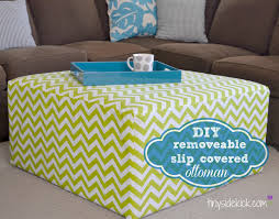 Diy Reupholster Ottoman by 10 Diy Ideas And Recipes Monday Funday Link Party 20