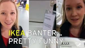 ikea puns guy winds up his girlfriend with ikea puns and becomes an internet