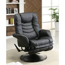 Leather Swivel Recliner Home Decor Beautiful Swivel Recliner Chair Idea Red Leather