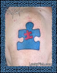 autism father son dedication tattoo u2014 luckyfish inc and tattoo