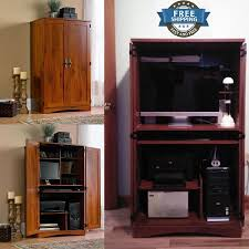 Computer Armoire Espresso by Modern Computer Armoire Image Yvotube Com