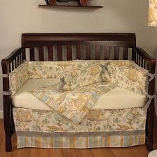 hoohobbers cirque blue 4 piece crib bedding set hoohobbers baby