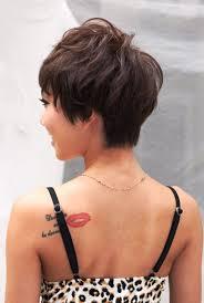 medium hairstyles front and back views of short haircuts