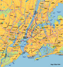 A Map Of New York City by Where Is New York City New York City Maps U2022 Mapsof Net