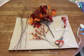 Easy DIY Fall Decor For Less Than $5 Practically Functional