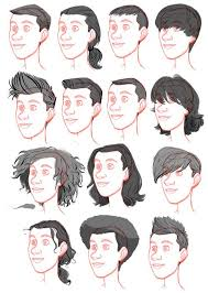 best 25 drawing male hair ideas on pinterest drawing hairstyles