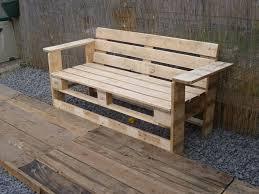 banc canap impressive inspiration banc palettes canap chaise un meuble en