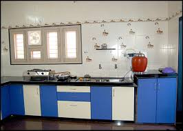modular kitchen design ideas with straight kitchen cabinets and