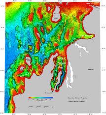 Generic Mapping Tools Bathymetry Of Lake Michigan