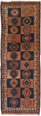 Blue Brown Area Rugs Shiraz Vintage Lamb U0027s Wool Hand Knotted Blue Brown Area Rug