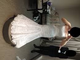 wedding dress hoop i said yes to enzoani dakota wedding bustle dress enzoani