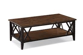 Rustic Wood And Metal Coffee Table Amazon Com Magnussen T1908 Fleming Wood And Metal Rectangular