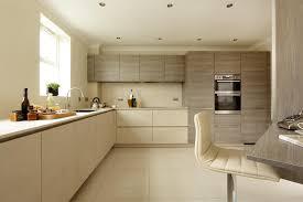 Alno Kitchen Cabinets Pale Ceramic Cera Oxide Avorio With Cashmere Grey Oak Effect Units