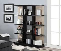 Bookshelf Book Holder 4 Tier Bookcase Shelf Storage Bookshelf Wood Shelving Book Stand