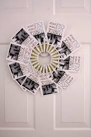 30 best christmas card wreath holder images on pinterest