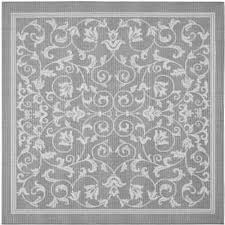Grey And White Outdoor Rug Flooring Make Your Floor More Beautiful With Elegant Lowes Rugs