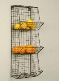 wall fruit basket metal fruit baskets foter