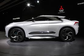 mitsubishi supercar concept mitsubishi e evolution concept is a high performance suv with good