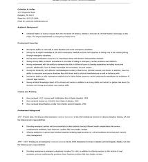 Firefighter Resume Examples by Marvellous Ideas Emt Resume Examples 4 Cv Resume Ideas