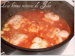 cuisiner des paupiettes de dinde paupiettes de dinde aux chignons et à la sauce tomate les