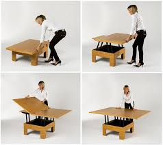 Coffee And Dining Table In One This Coffee Dining Table Saves Space
