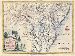 Map Of New Jersey And Pennsylvania by The Pink U201cjohn And William U201d And Captain Tymperton And The 1732