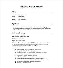Resume Best Practices Seo Resume Templates