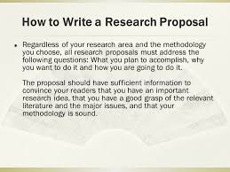 How to Write a Research Proposal Author  Paul T  P  Wong  Ph D   C     SlidePlayer How to Write a Research Proposal     The quality of your research proposal depends not only