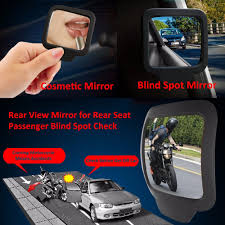 Driving Blind Spot Check 270 Degree Car Safety Back Seat Suction Inner Rear View Mirror