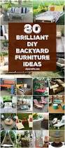 80 brilliant diy backyard furniture ideas that will give your