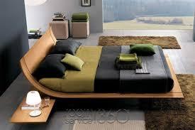 Modern Platform Bed King Aqua Modern Platform Bed By Presotto Room Service 360