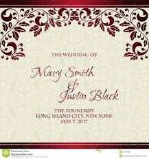 marriage card wedding card or invitation with abstract floral background