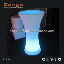 Led Bistro Table Led Light Up Bar Table Led Cocktail Table For Events View