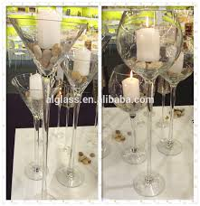 Tall Champagne Glass Vases Wedding Ceremony Centerpiece Vases Tall Giant Wine Champagne Glass