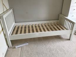 white company white single bed frames 2 no in bicester