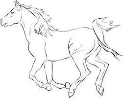 horse coloring pages free horse coloring pages