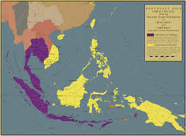 Map Of Southeast Asia by Southeast Asia In 1750 By Saluslibertatis On Deviantart