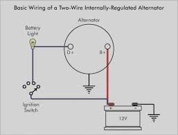beautiful of alternator warning light wiring diagram typical and