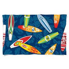 Hibiscus Crib Bedding Surfboards On Blue Hibiscus Surfer Baby Bedding Crib Comforter