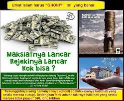 makna ghinaa dan ghoniyyun bukan kaya sebagaimana dimengerti
